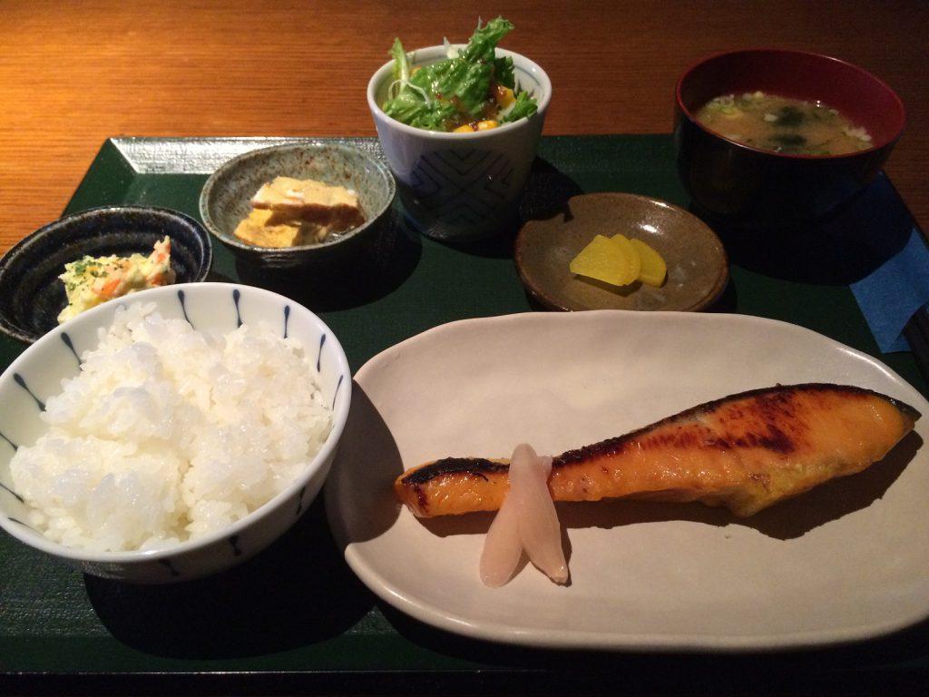銀鮭の西京焼き