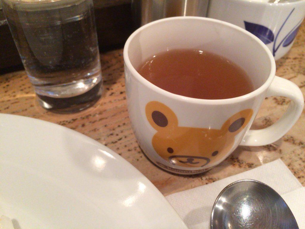 くまちゃんのコンソメスープ…。
