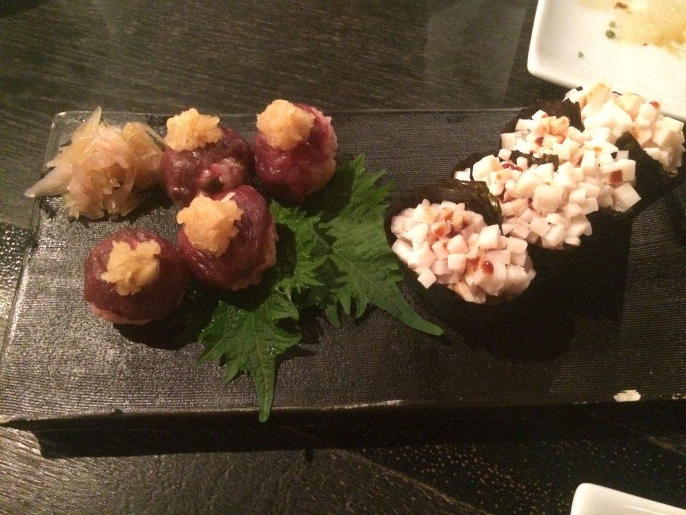 お寿司2種!たてがみ、やばい!!