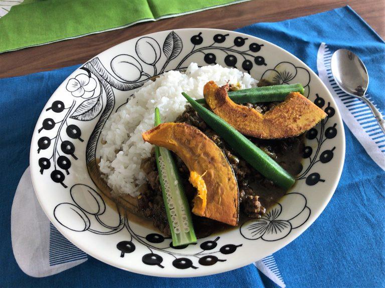 野菜たっぷりドライカレー