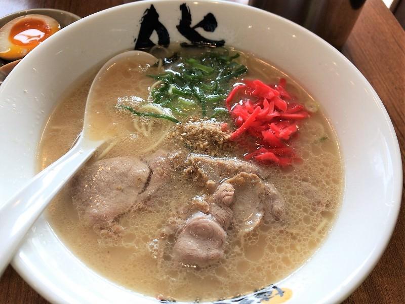 写真:博多ラーメン膳のラーメン