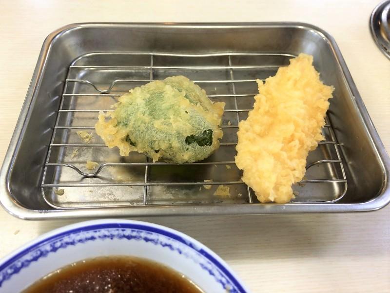 写真:天ぷらえびす食堂の天ぷら