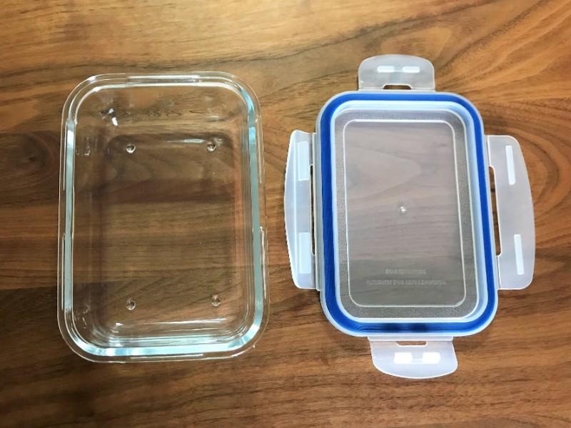 写真:ニトリの耐熱ガラス保存容器
