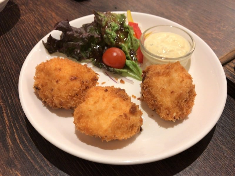 写真:魚マルシェ2号店 海老コロッケ