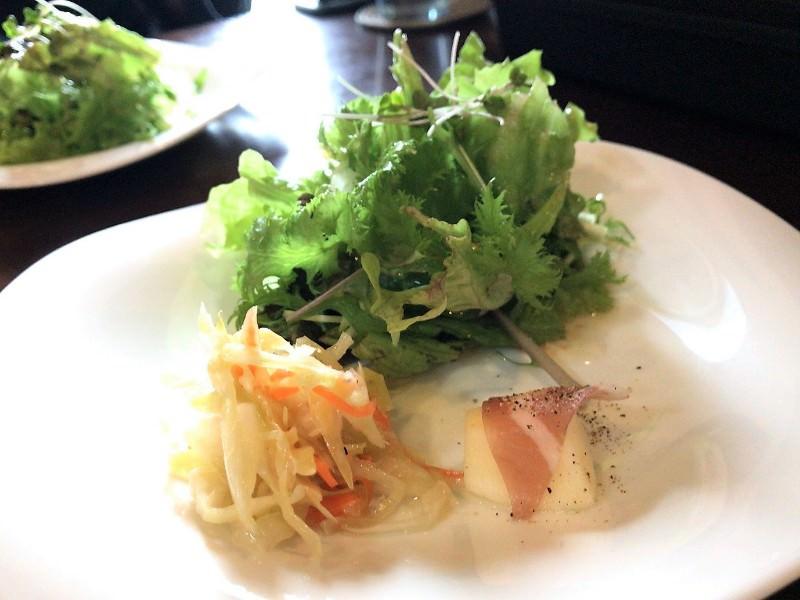 写真:ウッチーノ食堂 サラダ盛り合わせ