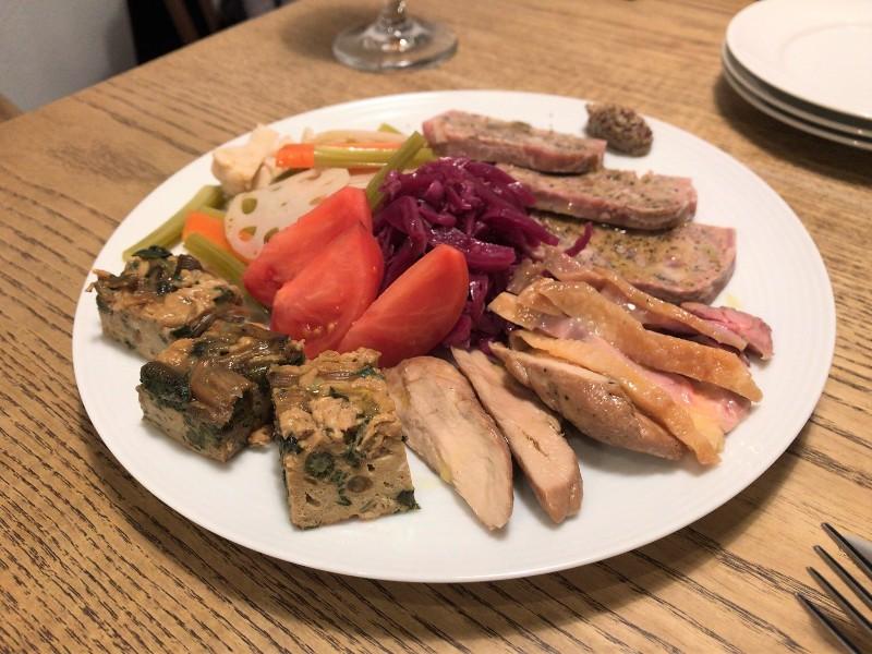 写真:糸島のレストラン noda 前菜盛り合わせ
