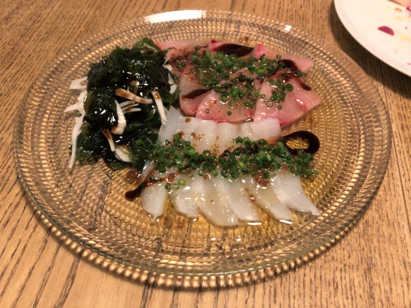 写真:糸島のレストラン noda カルパッチョ