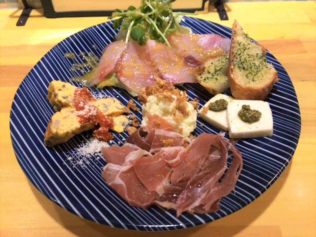 写真:レガリノ 前菜盛り合わせ