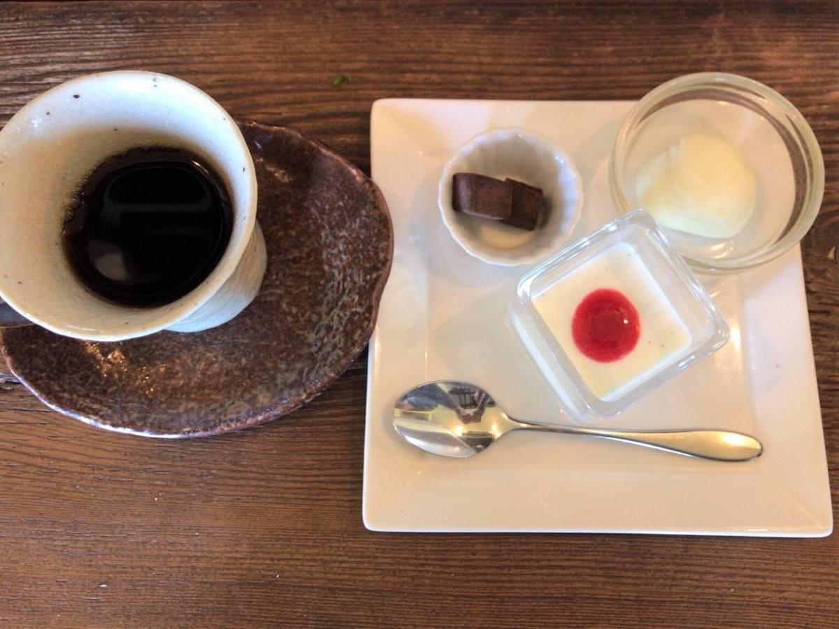 写真:唐津 Popote(ポポット)ランチプレートのデザート