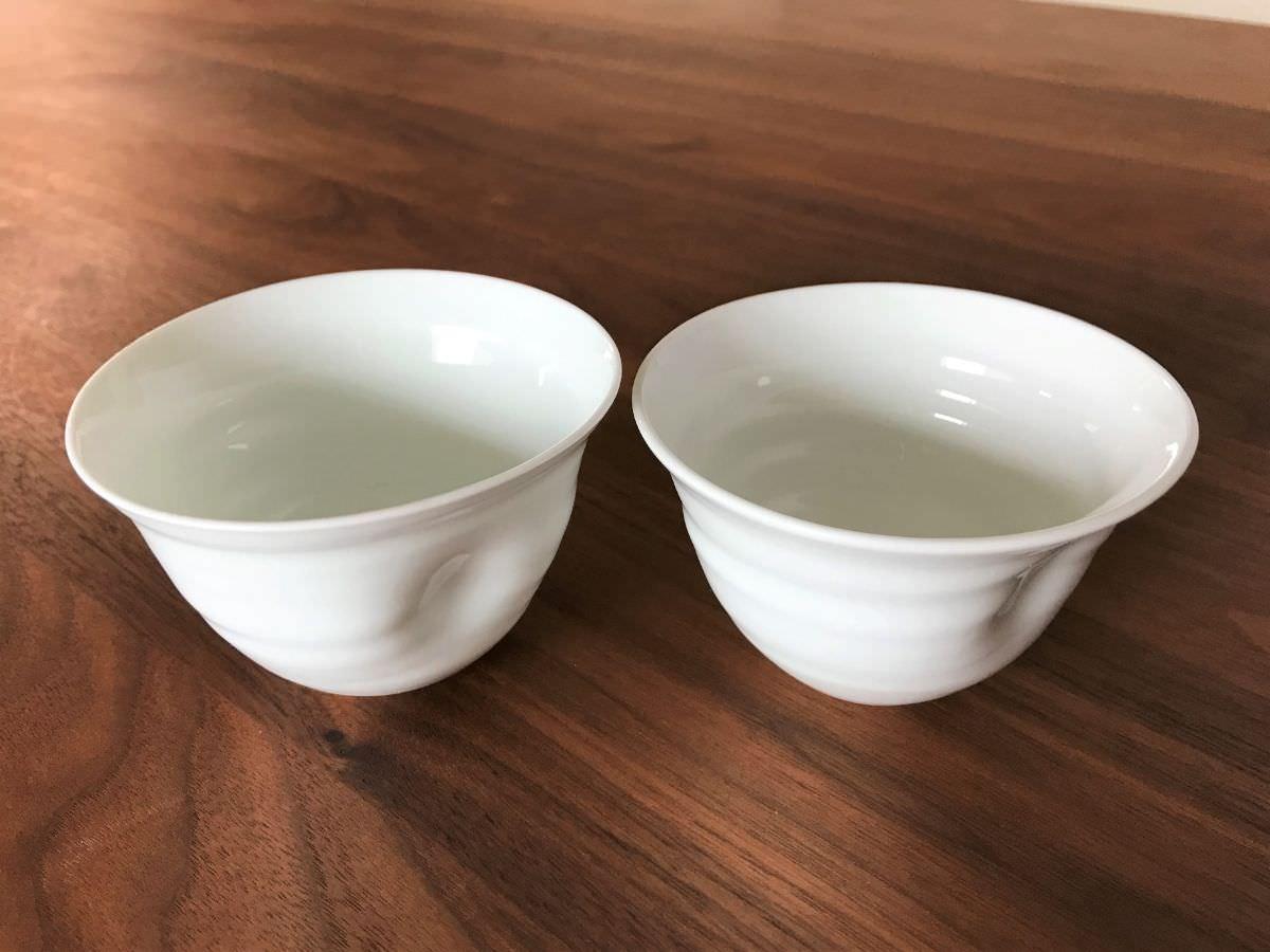 写真:有田陶器市で買ったG工房の茶碗