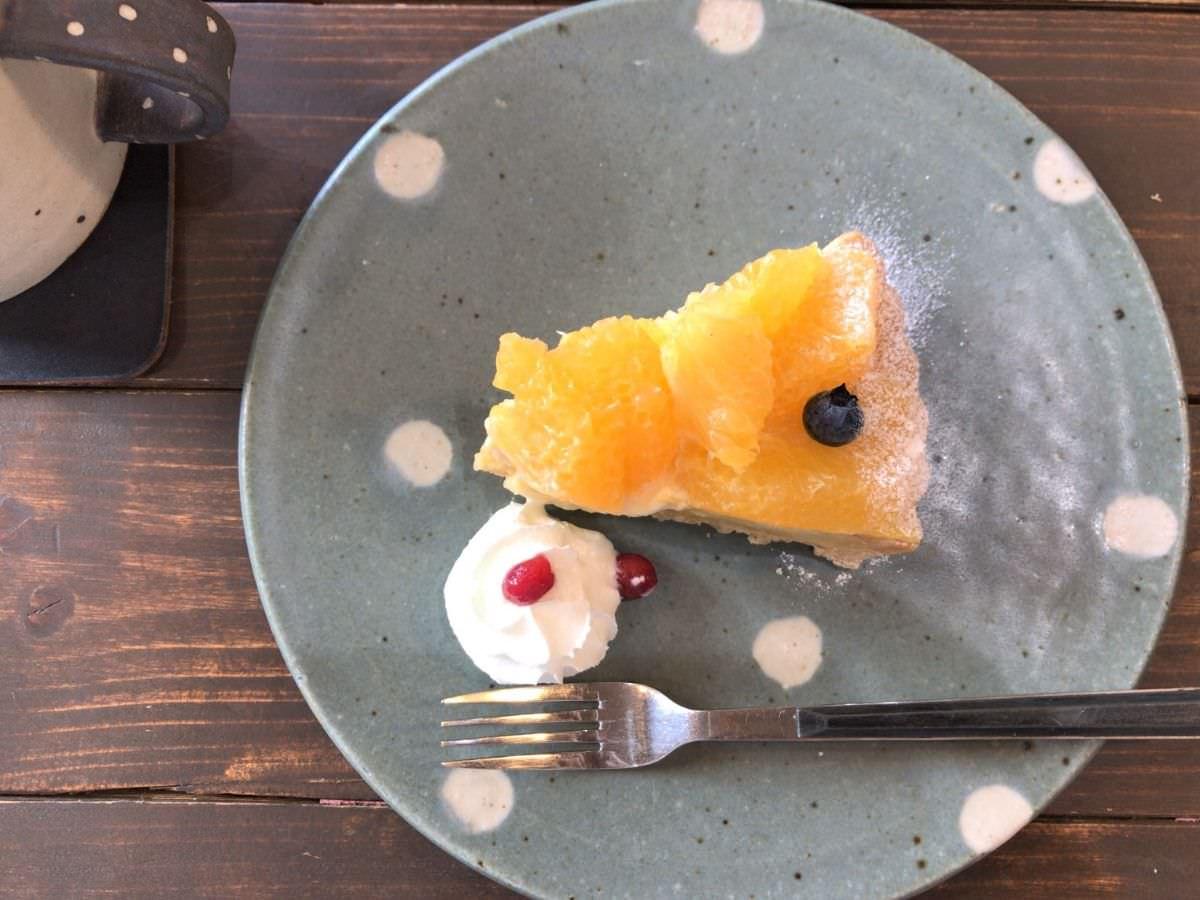 写真:糸島 Kafuwa Coffee 甘夏のタルト