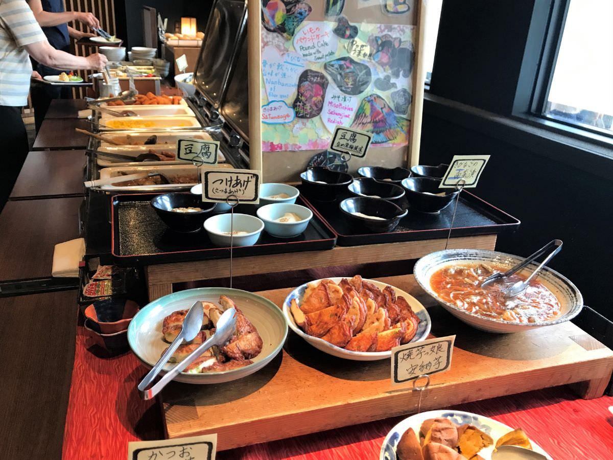 写真:リッチモンドホテル鹿児島金生町 朝食バイキング