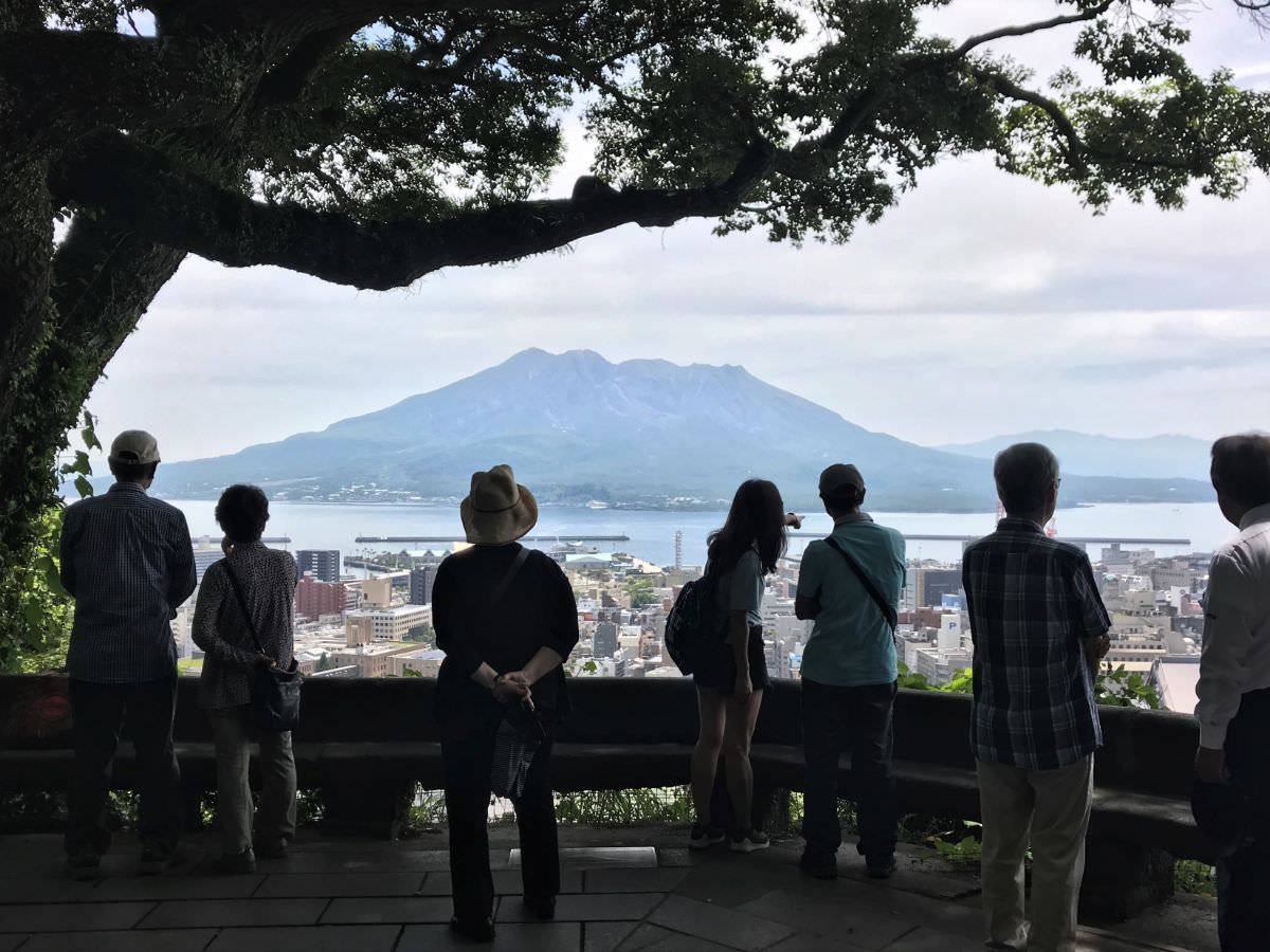 写真:鹿児島 城山展望台