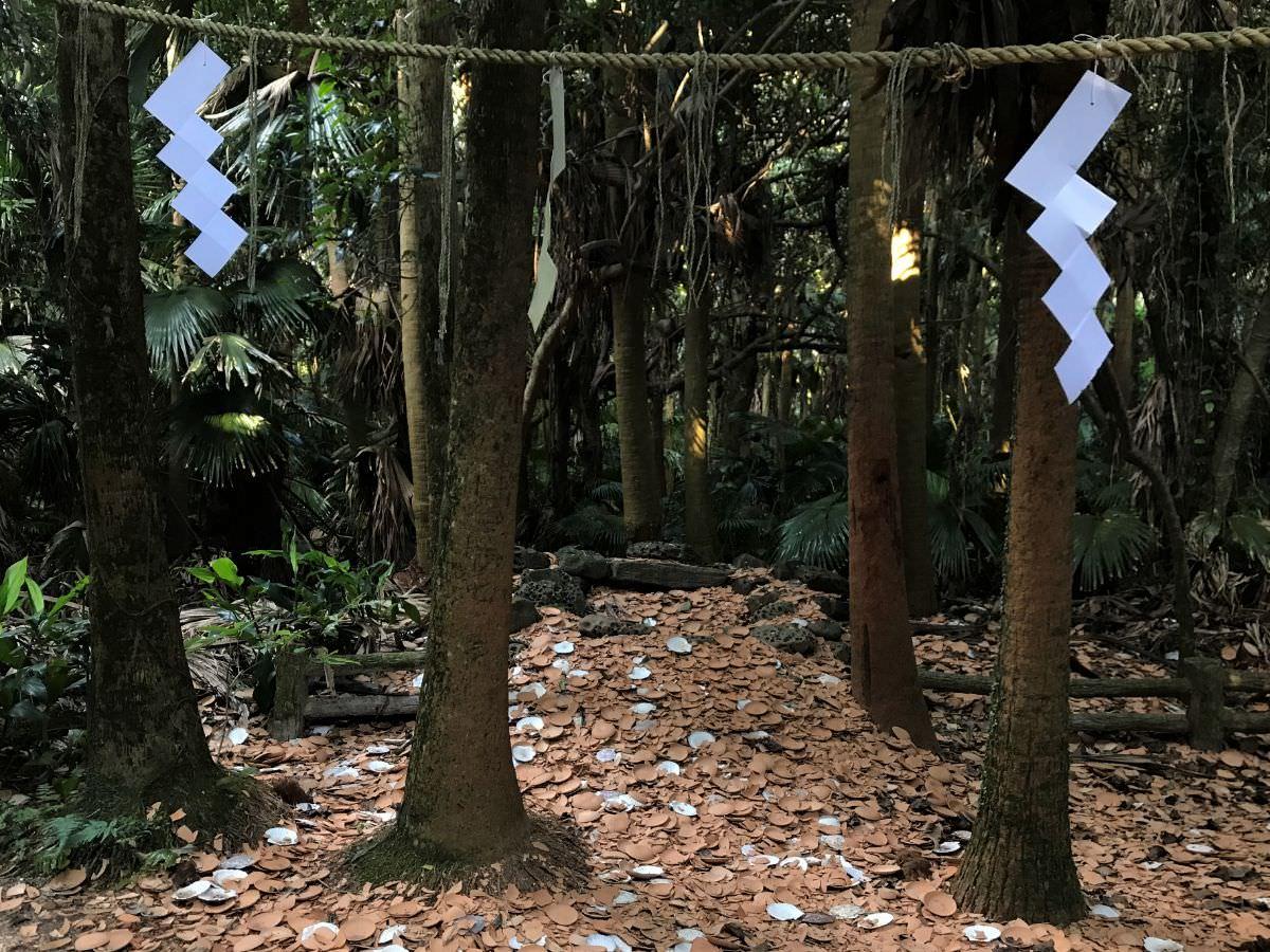 写真:宮崎 青島神社 天の平瓮投げ