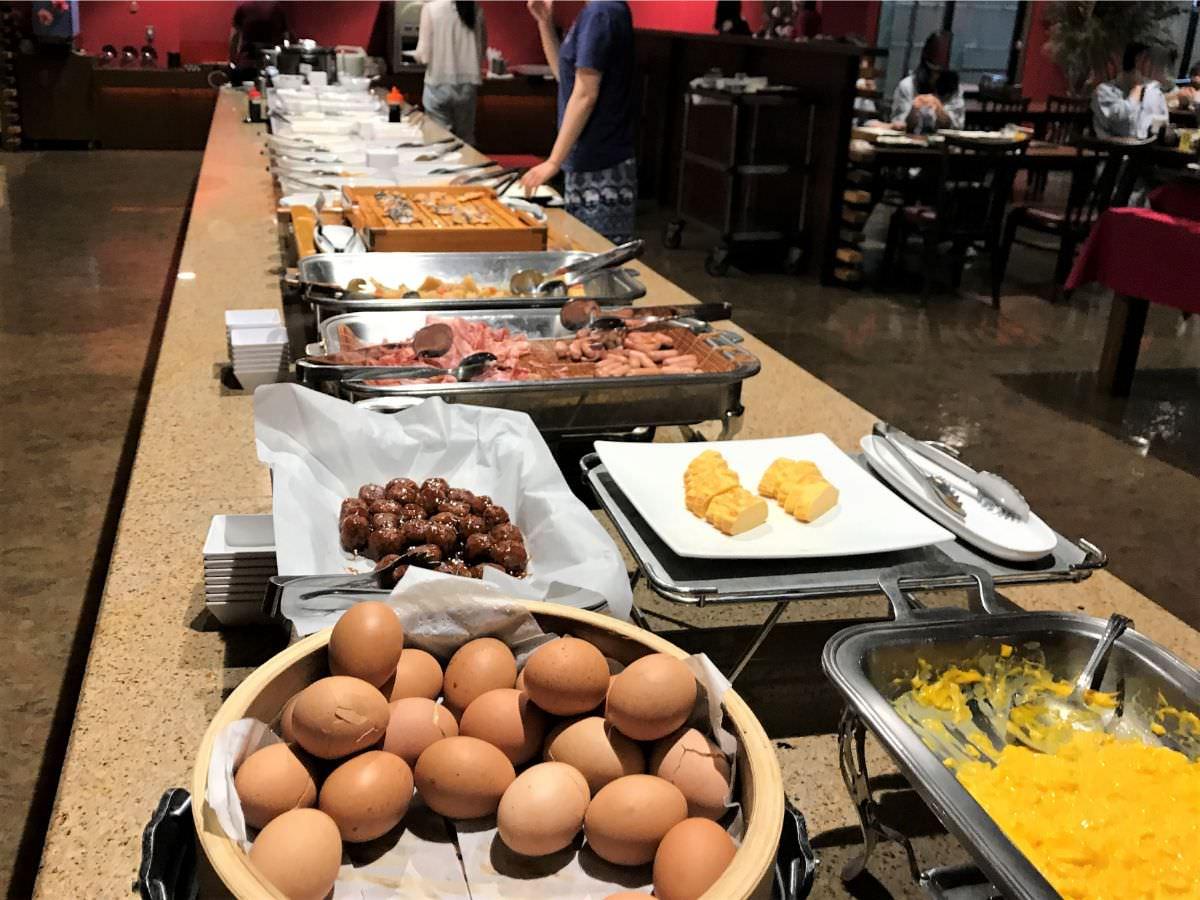 写真:ホテルおにやま 朝食バイキング