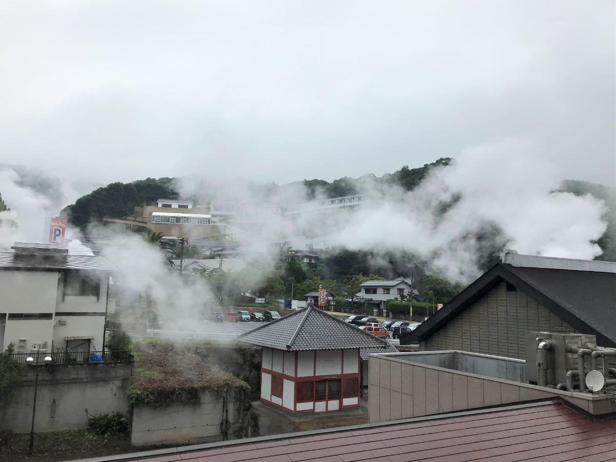 写真:ホテルおにやま 部屋からの景色