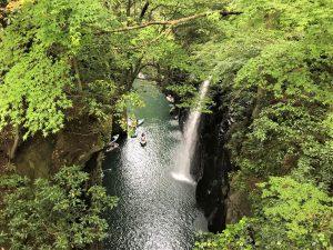 写真:高千穂峡 真内の滝
