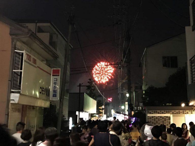 写真:周船寺花火大会2019