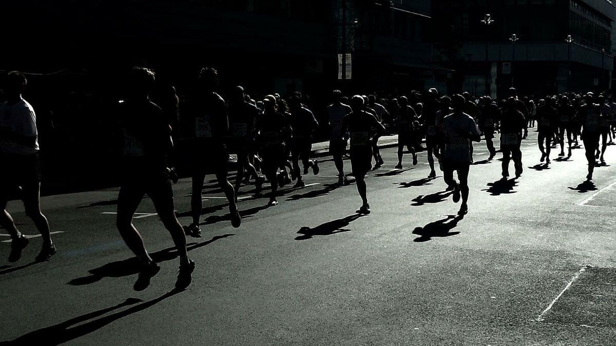 写真:マラソン大会イメージ