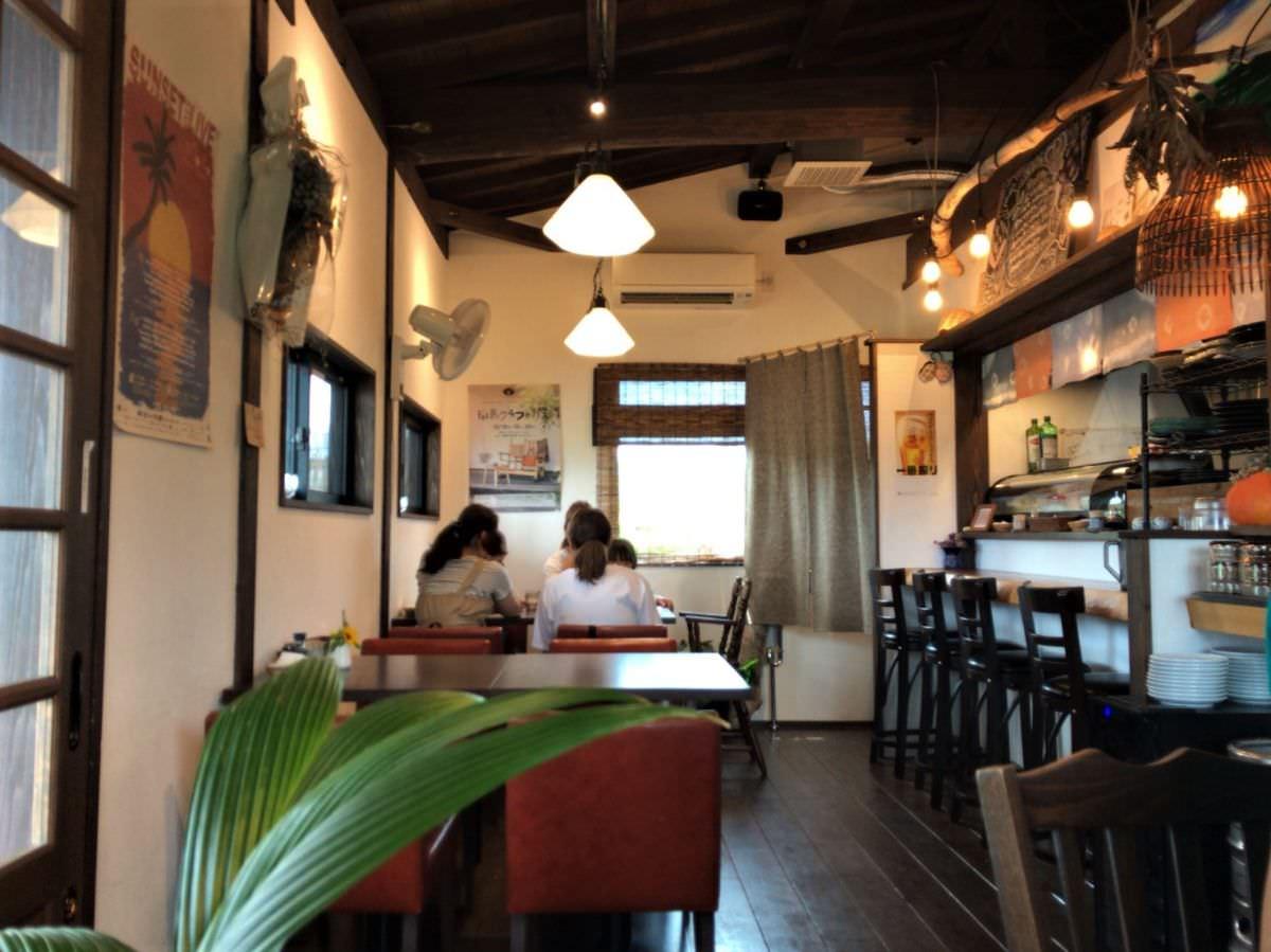 写真:福岡糸島 はれるや 店内の様子