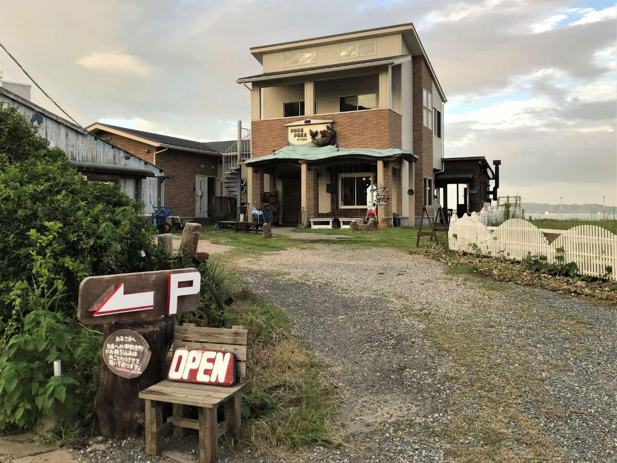 写真:福岡 糸島 プカプカキッチン 外観