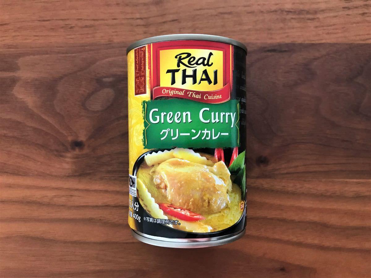 写真:業務スーパー グリーンカレーの缶詰
