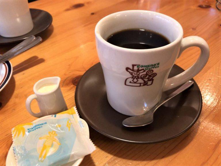 写真:コメダ珈琲 オリジナルブレンドと豆菓子