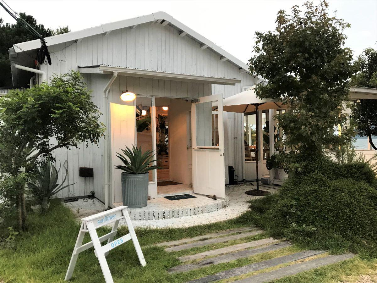 写真:福岡 糸島 サンフラワー 外観