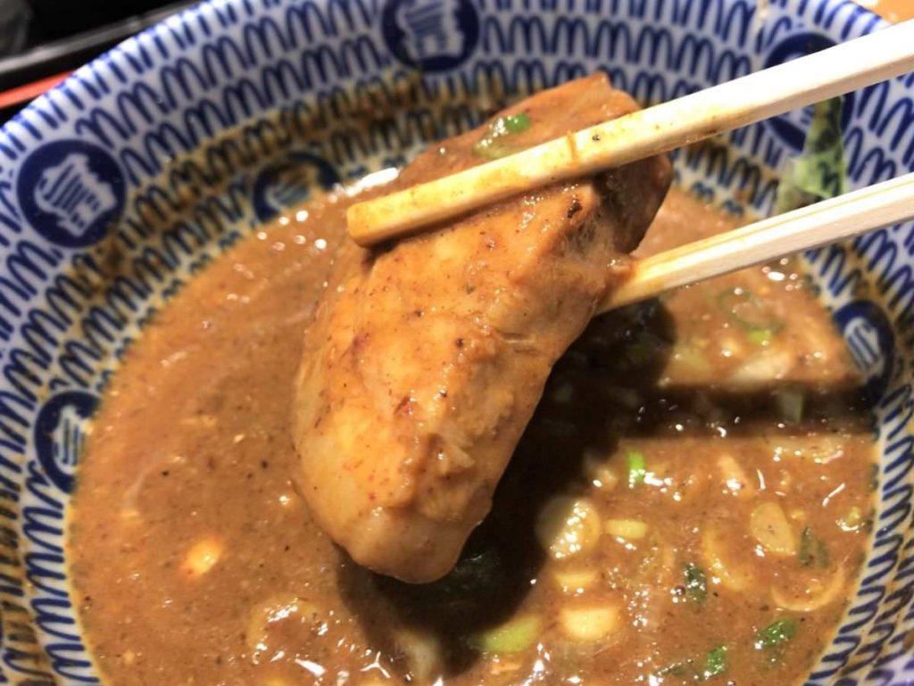 写真:松戸富田麺絆 厚切りのチャーシュー