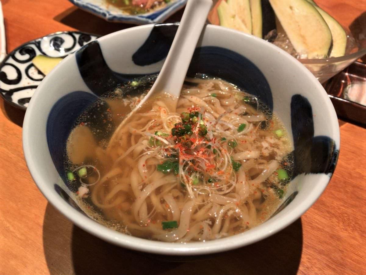 写真:やきとり宮川 四ツ谷 生姜鶏ラーメン