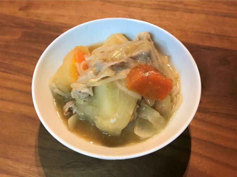 写真:北海道産野菜で作った肉じゃが