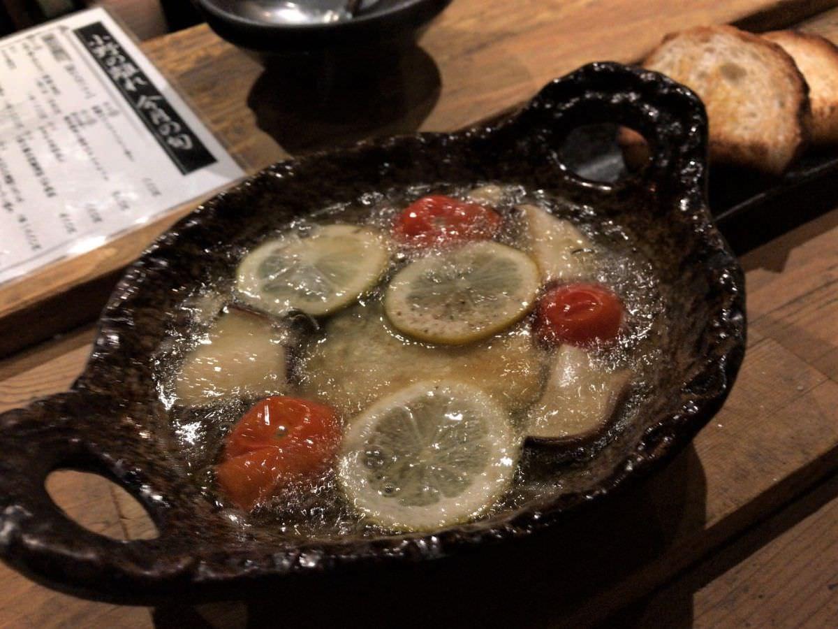 写真:福岡赤坂 小野の離れ 鯖のコンフィ