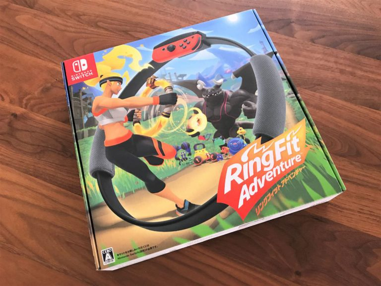 写真:Nintendo Switch「リングフィット アドベンチャー」パッケージ
