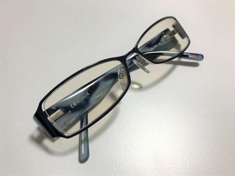 写真:出来上がったPC用メガネ