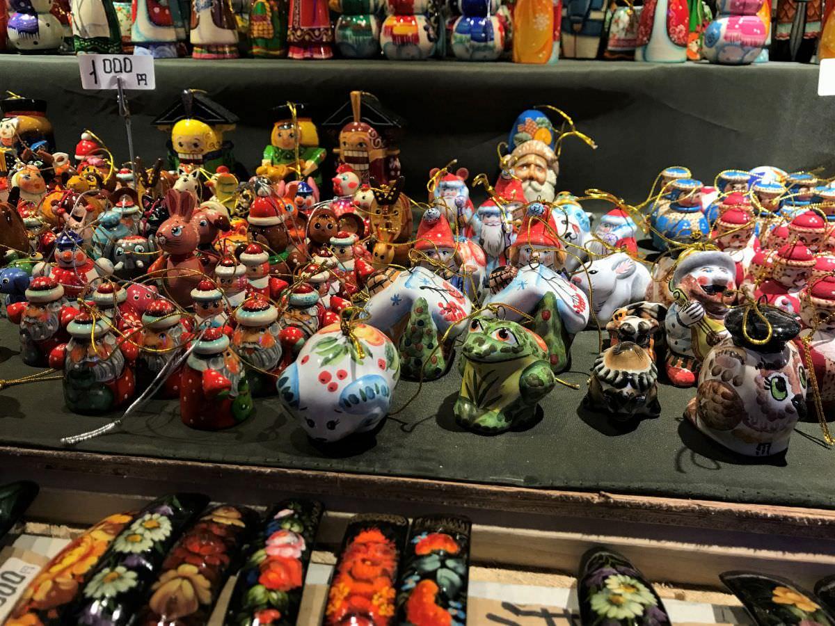 写真:福岡クリスマスマーケットin博多 雑貨屋さん