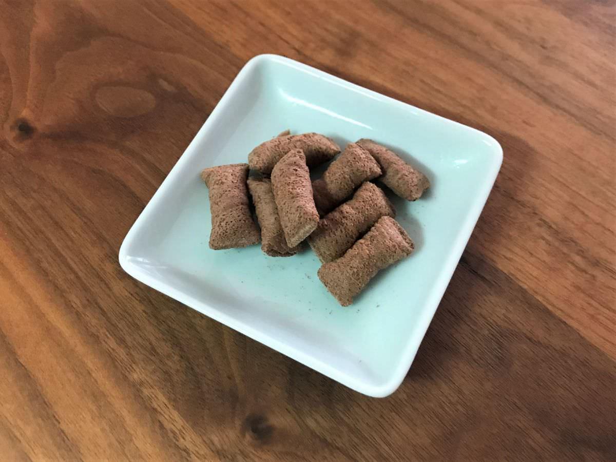 写真:業務スーパー エンジェルバイツ チョコ味