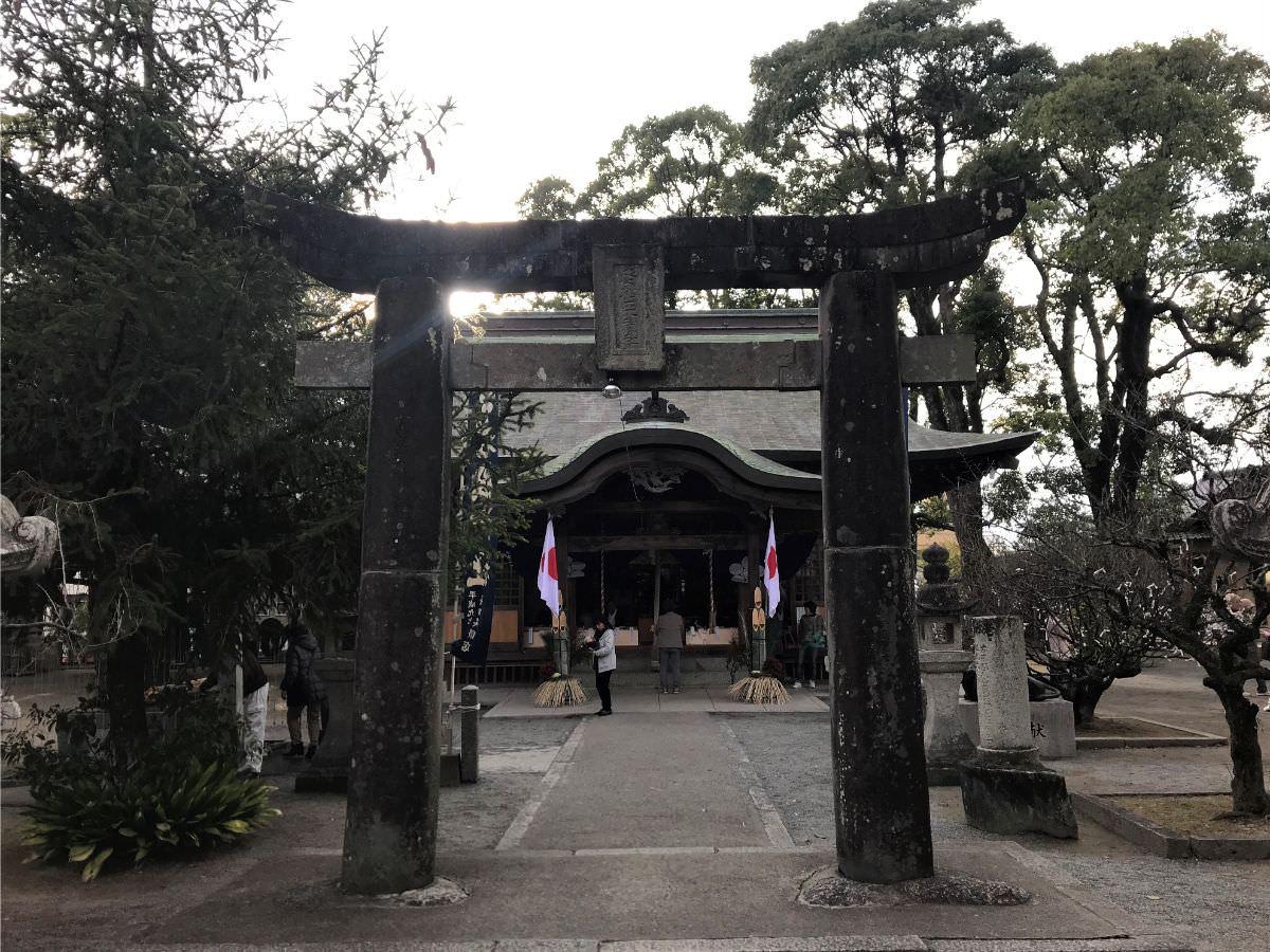 写真:福岡糸島 老松神社