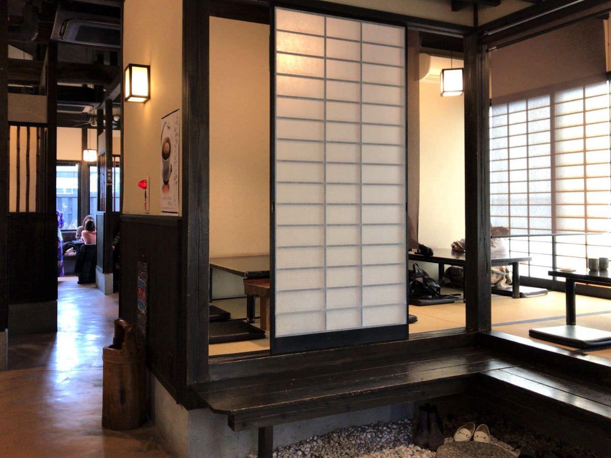 写真:福岡市西区 町家かふぇ かまくら 店内の様子