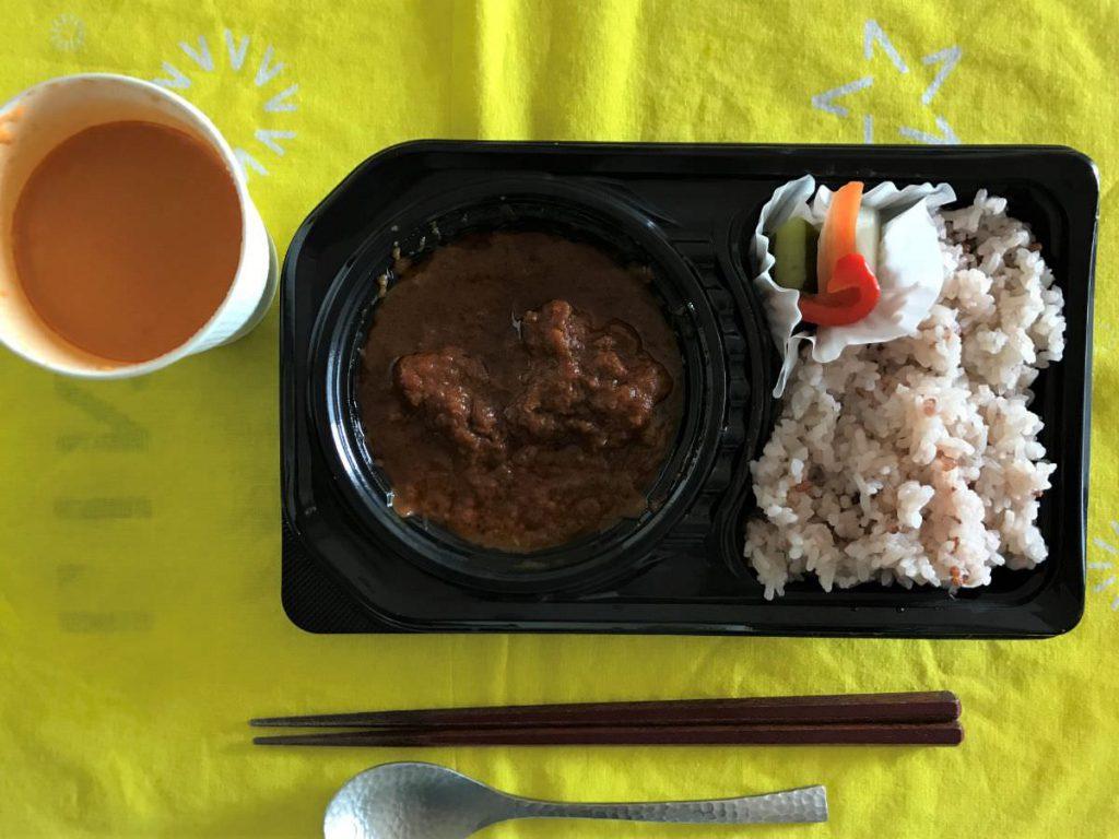 写真:福岡 糸島 ウッチーノ食堂 特製チキンカレー