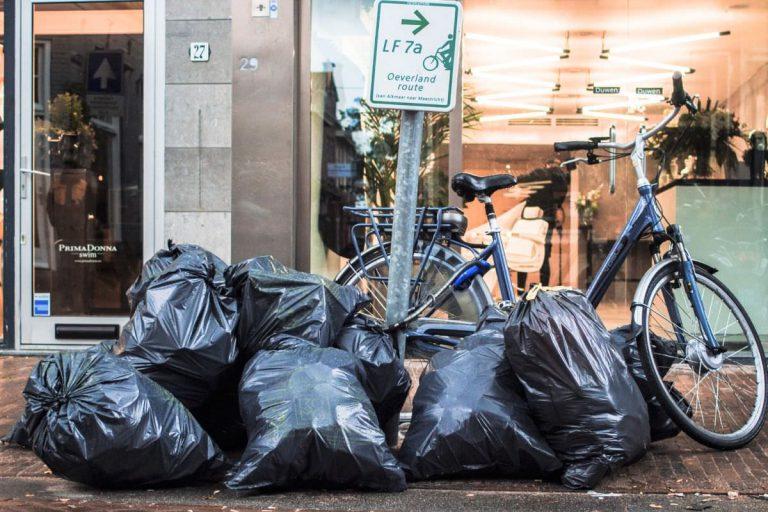 写真:ゴミ捨て場イメージ