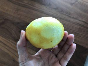 写真:削った後のレモン