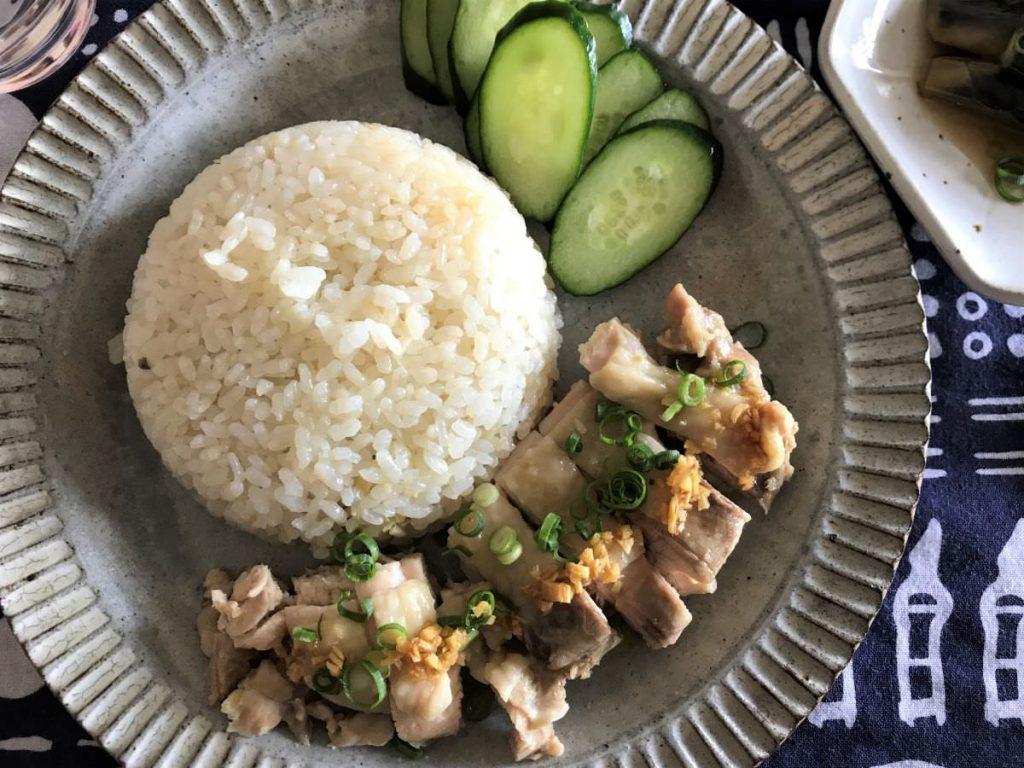 写真:「きのう何食べた?」のシンガポールチキンライス