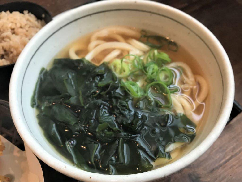写真:福岡糸島 あじ豊 うどんも出汁も最高においしい