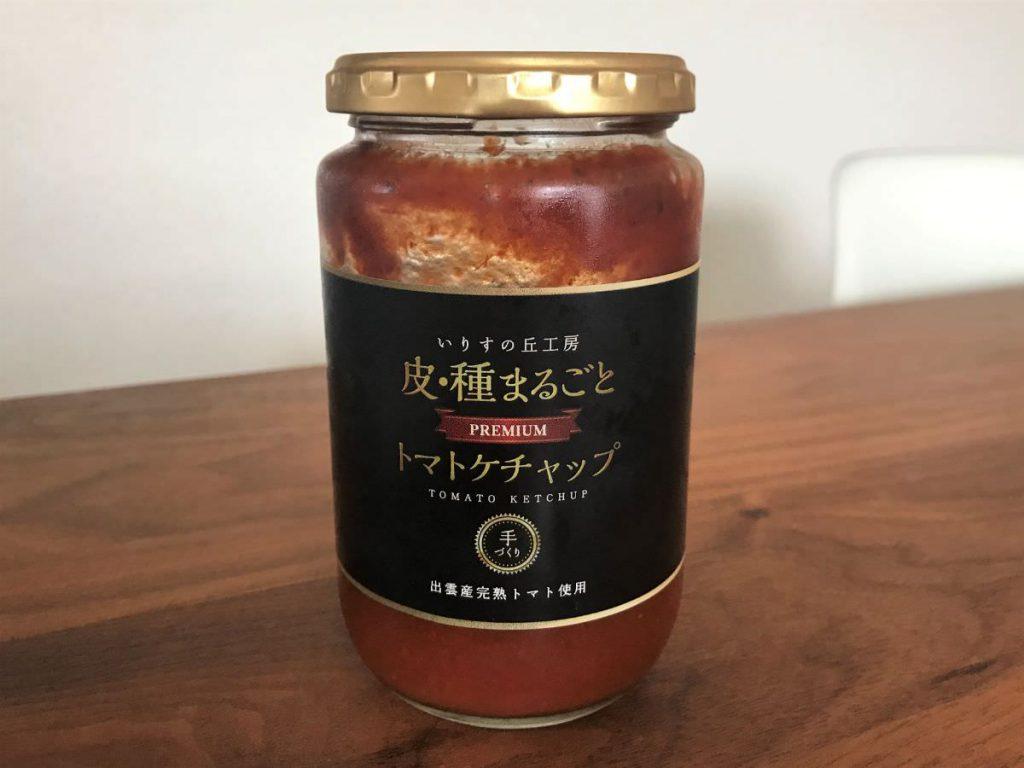 写真:皮・種まるごとトマトケチャップ