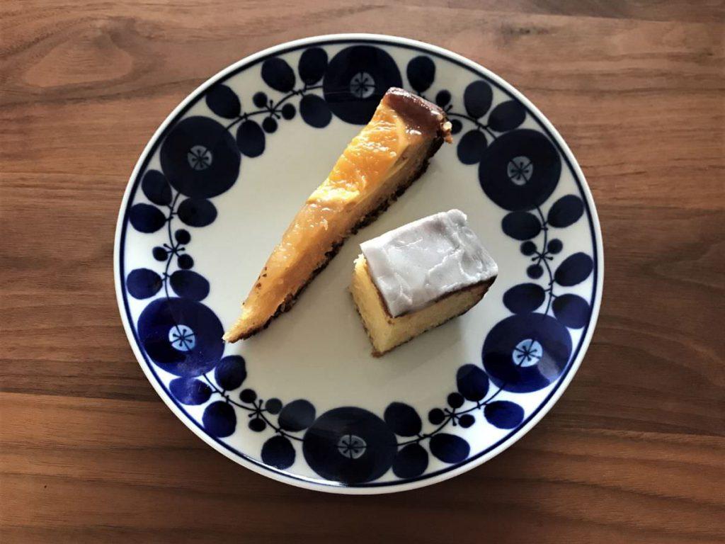 写真:福岡糸島 BENCH & MUG 半分に切って食べる