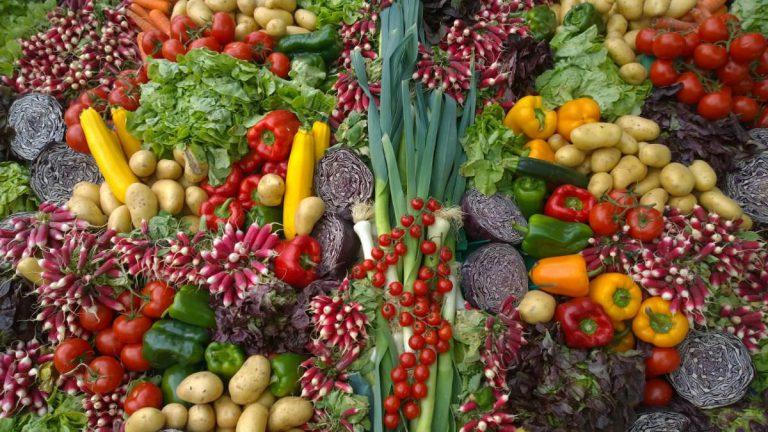 写真:野菜売り場イメージ