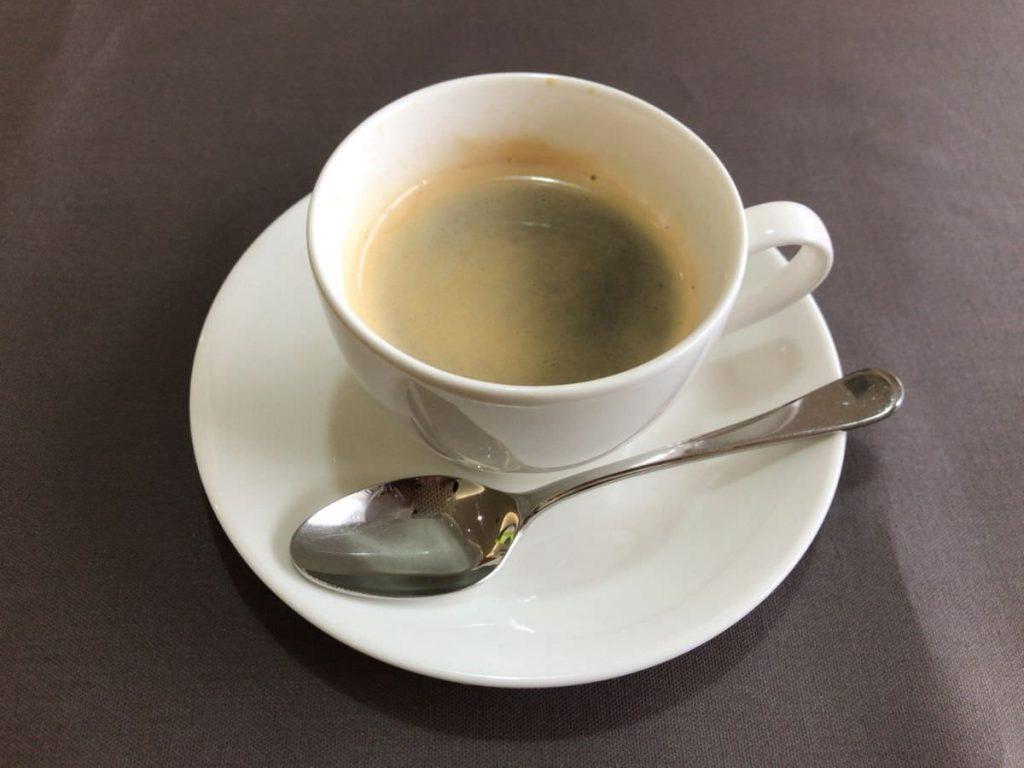 写真:福岡糸島 レストラン美咲亭 食後のコーヒー