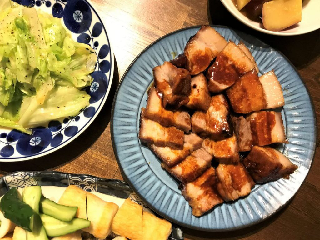 写真:味の素スチーミー 豚チャーシューは野菜と一緒に食べたい
