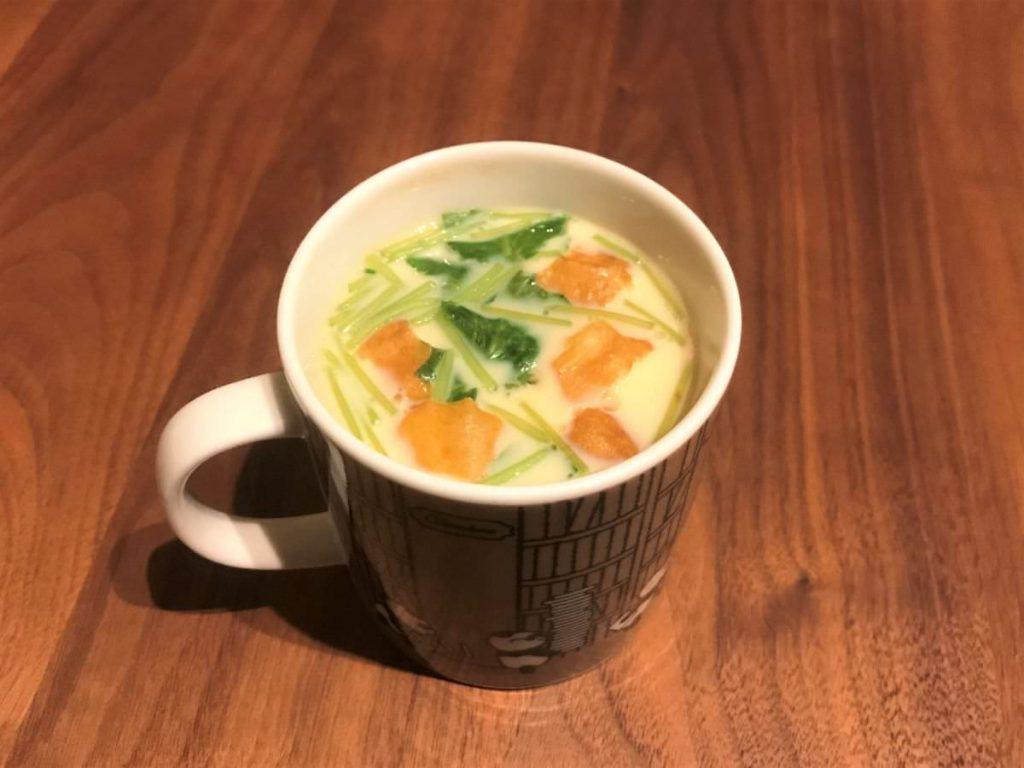 写真:茶碗蒸しできました