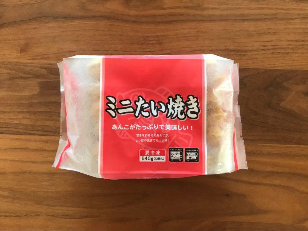 写真:業務スーパー 冷凍ミニたい焼き